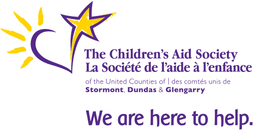 Logo of the Children's Aid Society of the United Counties of Stormont, Dundas and Glengarry